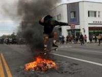 تجدد المظاهرات الأمريكية احتجاجا على مقتل فلويد