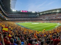 الصحة الإسبانية تنظر إمكانية حضور جماهير كرة القدم للمباريات