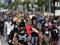 رغم الحظر.. المتظاهرون يجتمعون في شوارع واشنطن