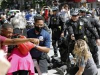 ارتفاع عدد المعتقلين منذ بدء الاحتجاجات الأمريكية إلى 9300 شخص