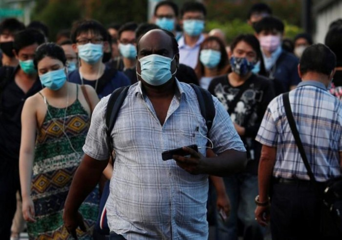 سنغافورة: ارتفع العدد الإجمالي للإصابات بكورونا إلى 36405