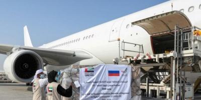 الإمارات تدعم داغستان في حربها ضد كورونا بطائرة إمدادات طبية