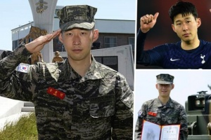 سون يكشف أسرار تجربته في أداء الخدمة العسكرية بكوريا الجنوبية