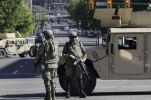 عاجل ..قواتالجيش الأمريكي تنسحب من واشنطن وتعود إلى قواعدها