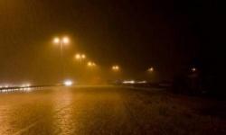 أمطار غزيرة تسقط على عدن