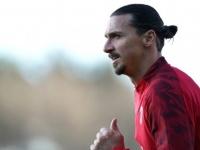 ميلان يأمل في تعافي إبراهيموفيتش من الإصابة قبل استئناف الدوري الإيطالي