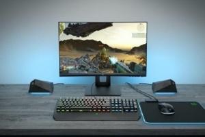 إتش بي تزيح الستار عن الشاشة المنحنية X24c الجديدة