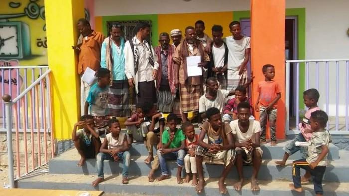 """مساعدات إغاثية من """"انتقالي بروم ميفع"""" لضحايا السيول"""
