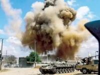 مُسيرة تركية تستهدف موقعًا للجيش الليبي جنوبي سرت
