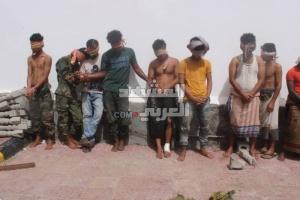 ضبط مسلحين متورطين في الهجوم على طقم أمني بكريتر