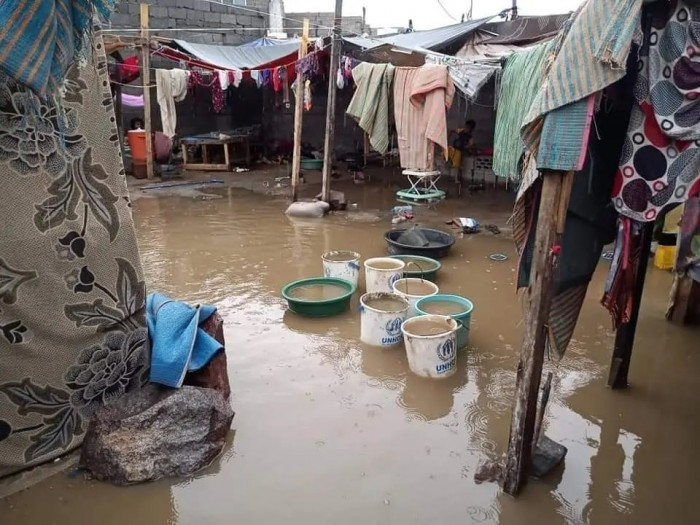 الشرق الأوسط: خسائر بمخيمات النزوح جراء الأمطار