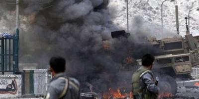 مقتل 11 شرطيًا في انفجار لغم أرضي بأفغانستان