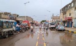 الأمطار تفضح مشاريع الملايين الوهمية بزنجبار (صور)
