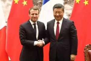 الرئيس الفرنسي يؤكد لبكين أهمية الشراكة بين الصين وأوروبا