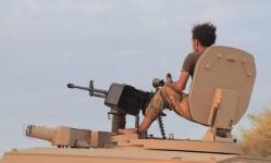 مدفعية الجنوب تكبد الإخوان خسائر فادحة بأبين (صور)