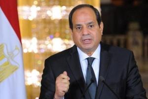 السيسي: نُحذر من التمسك بالخيار العسكري لحل الأزمة في ليبيا
