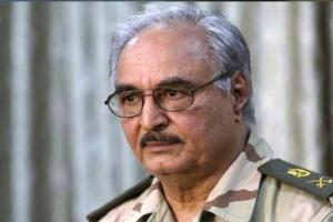 حفتر: تركيا تُريد حصار ليبيا ومصر باتفاق يتيح استباحة أراضي بلادنا