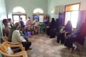 انتقالي ردفان يبحث دعم المحجر الصحي ومركز الأمومة