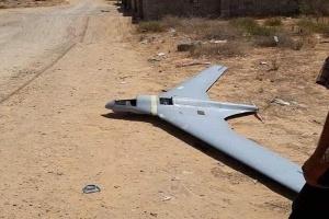 الجيش الوطني الليبي يُسقط طائرتين مسيرتين أطلقتهما مليشيا الوفاق