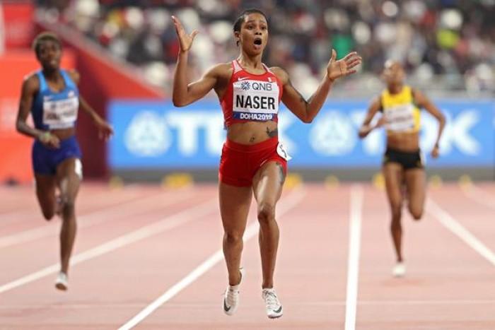 خضوع العداءة سلوى ناصر للتحقيق بتهمة انتهاك لوائح مكافحة المنشطات