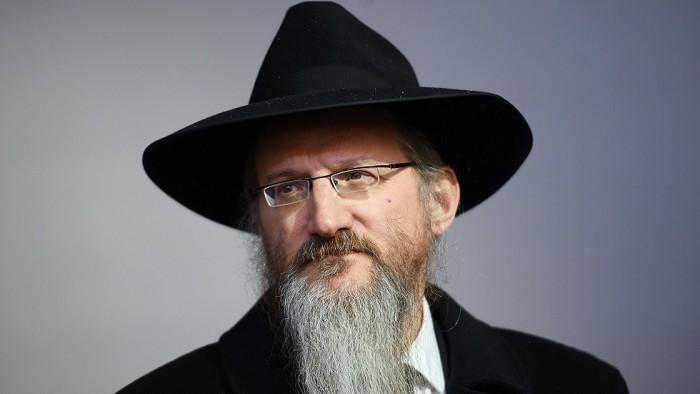 إصابة حاخام اليهود الأكبر بروسيا بفيروس كورونا