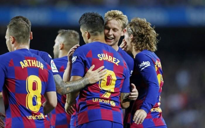 سيتيين يطالب لاعبي برشلونة بالفوز بمبارياتهم المتبقية في الدوري الإسباني