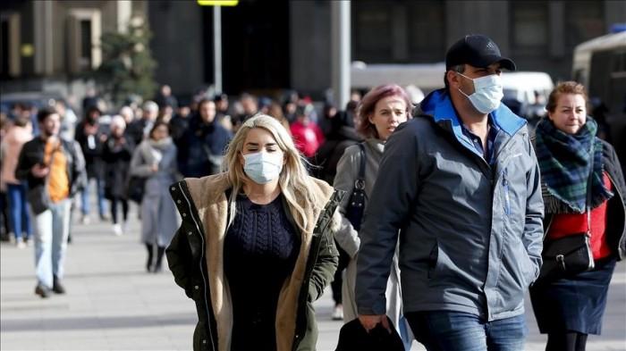روسيا تُسجل 171 وفاة و8595 إصابة جديدة بفيروس كورونا