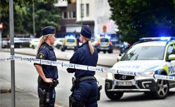 حادث إطلاق النار في أحد المراكز التجارية بالسويد