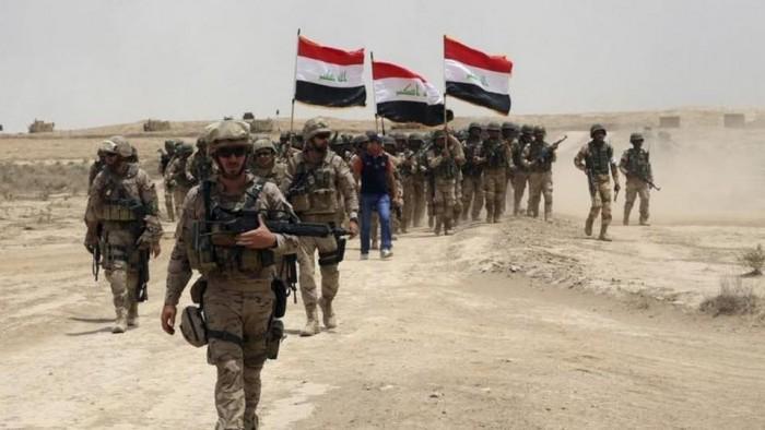 قوات العراق تعثر على منصة إطلاق الصاروخ قرب السفارة الأميركية