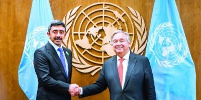 """بعد إشادة الأمم المتحدة بدورها الإنساني تجاه العالم.. """"الإمارات"""" تتصدر الترند"""