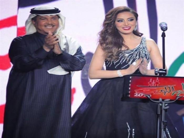 أنغام تهنئ محمد عبده بعيد ميلاده