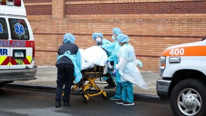 أمريكا تًسجل 767 وفاة و25540 إصابة جديدة بفيروس كورونا