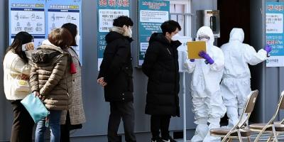 كوريا الجنوبية تسجل حالة وفاة و59 إصابة بفيروس كورونا