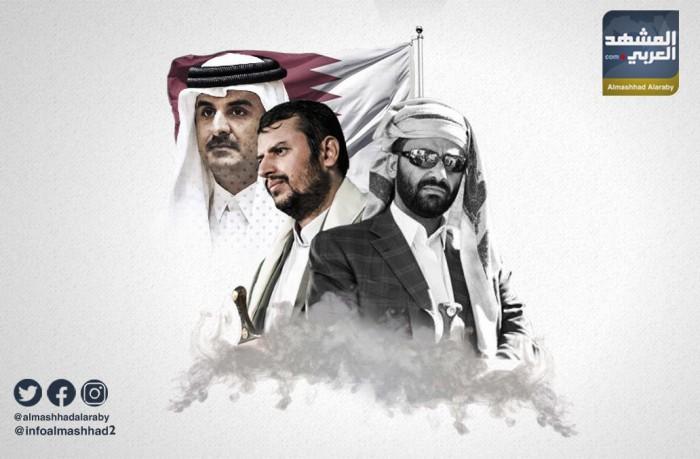 صفقات مشبوهة برعاية المخابرات القطرية (إنفوجراف)