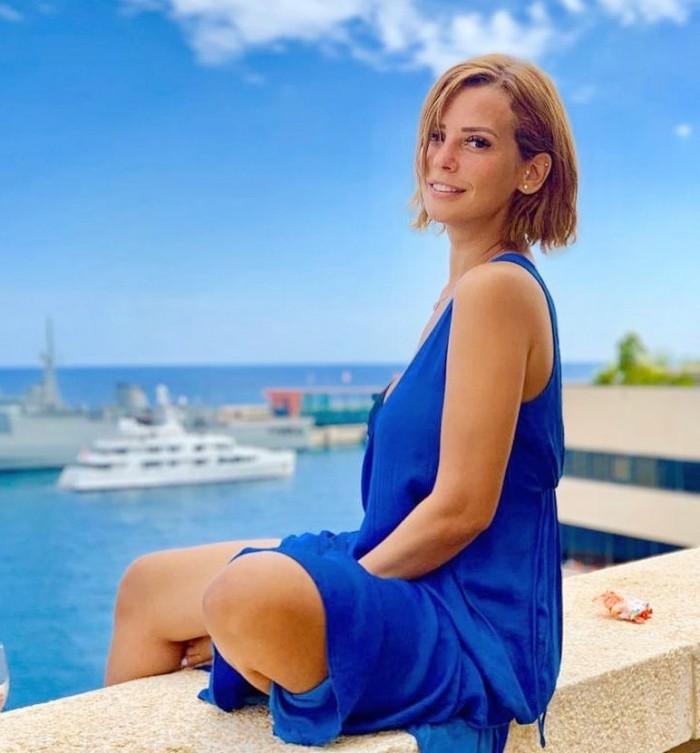 بعد شفائها من كورونا.. إيمان العاصي تستمتع بإجازاتها الصيفية على البحر