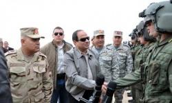 السيسي: لن نكون غزاة وليس لنا أطماع في ليبيا