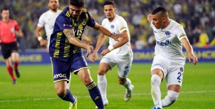 قاسم باشا ينتزع فوزا صعبا من فنربخشة في الدوري التركي