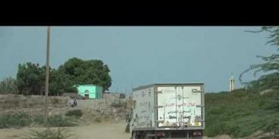 عيادة إماراتية متنقلة تصل إلى موشج في الخوخة (فيديو)