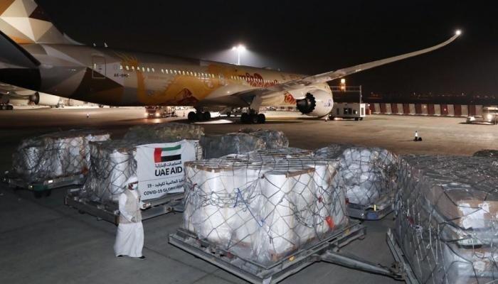 الإمارات تدعم 68 دولة حول العالم بإمدادات طبية لمكافحة كورونا