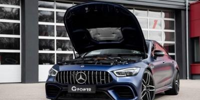 إجراء تعديلات على سيارة مرسيدس AMG GT