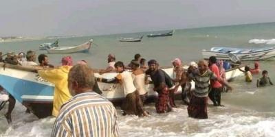 وصول 38 صيادا احتجزتهم إريتريا إلى الحديدة