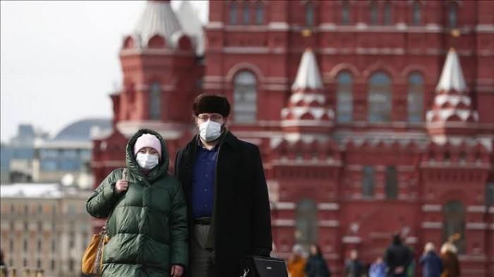 روسيا تسجل 188 وفاة و6 آلاف و852 إصابة جديدة بكورونا