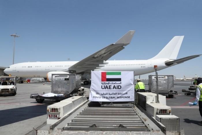 للمرة الرابعة..الإمارات تمنح إيران 16 طنًا من المساعدات الطبية لمواجهة كورونا