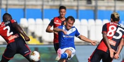 التعادل الإيجابي يحسم مواجهة بريشيا وجنوى في الدوري الإيطالي