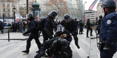 فرنسا.. مواجهات عنيفة بين الشرطة ومجموعة شباب والسبب حفل