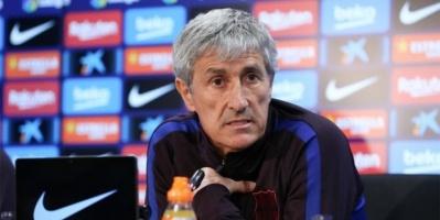 ماركا: مناقشة حادة بين سيتين ولاعبي برشلونة بعد الهزيمة من سلتا فيجو