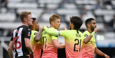 مانشستر سيتي يتأهل لمواجهة أرسنال في نصف نهائي كأس الاتحاد