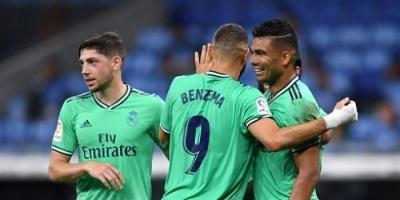 ريال مدريد يزيح برشلونة عن قمة الليجا بفوز صعب على إسبانيول