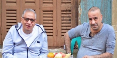 """""""صديق الكفاح"""".. أحمد السبكي بصحبة محمد سعد في أحدث ظهور لهما"""