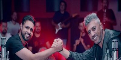 """عمر عبداللات واليمنى صلاح الأخفش يطرحان """"تمنيت أشوفك"""" (فيديو)"""
